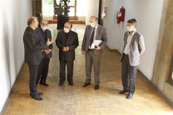 President of the ECO Cultural Institute, Mr. Sarvar Bakhti visited Niavaran Cultural Center