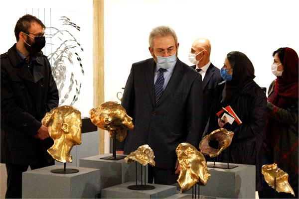 "The ""11th National Ceramic Biennale of Iran"" hosted the Ambassador of Cyprus"