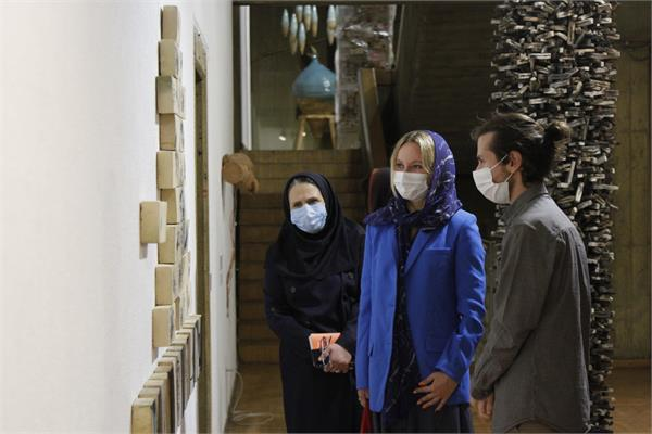 Italian Cultural Attaché visits Niavaran Cultural Center